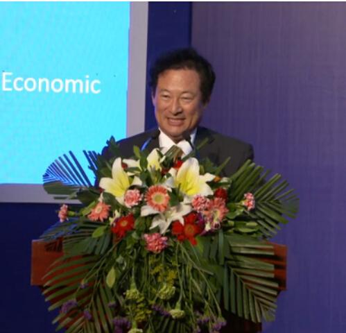 具天书--韩中经济协会会长第七届外洽会演讲