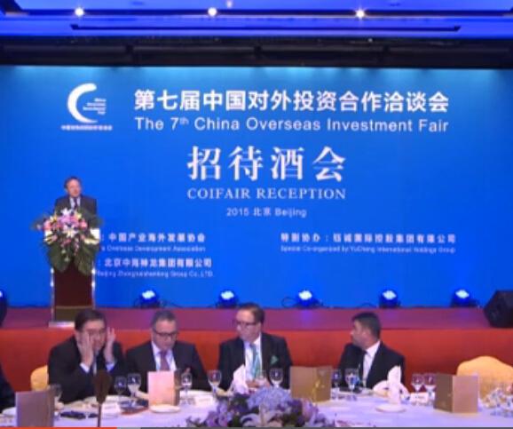 第七届中国对外投资合作洽谈会招待酒会