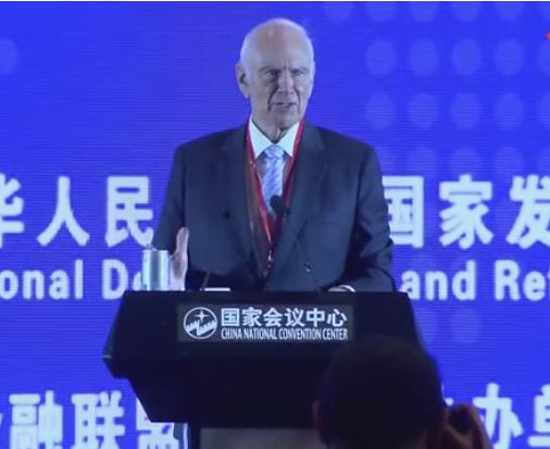 理查阿尔斯通--第九届中国对外投资合作洽谈会演讲