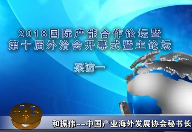 第十届中国对外投资洽谈会媒体采访1