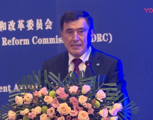 上海合作组织秘书长诺罗夫先生演讲